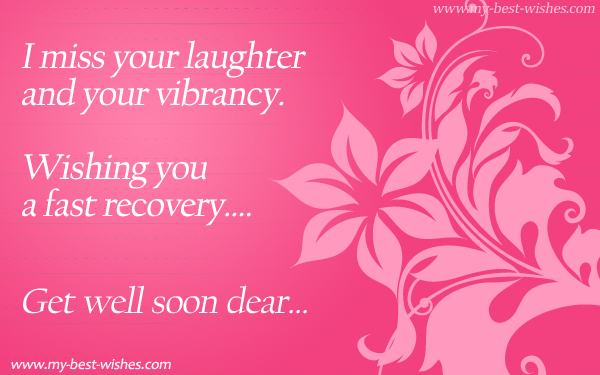 Get well soon wishe e card recover soon e card my best get well soon greeting m4hsunfo