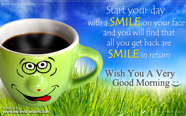 Free good morning wishes e card send good morning e card my cute good morning greeting card or e card m4hsunfo