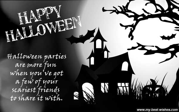 Great Happy Halloween Greetings ~ Send Halloween E Card Wish Happy Halloween To Y.